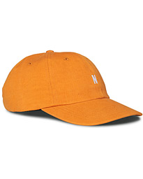 Norse Projects Twill Sports Cap Cadmium Orange