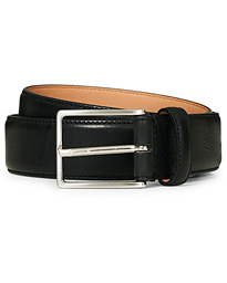 Morris Emile Leather Belt Black