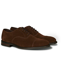Loake 1880 Wesley Shadow Sole Dark Snuff Suede