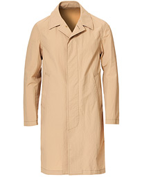 Oscar Jacobson Sevin Lightweight Cotton Coat Beige