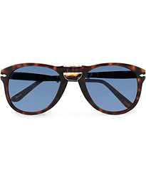 0PO0714 Folding Sunglasses Havana/Blue Gradient