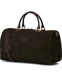 Boston Suede Weekendbag Brown/Brown