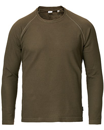 Aspesi Long Sleeve Raglan T-Shirt Military