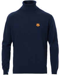 Tiger Crest Polo Navy