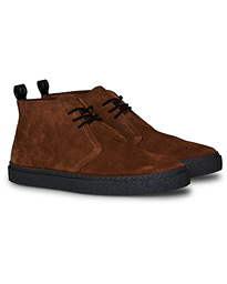 Fred Perry Hawley Suede Chukka Boot Brown