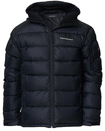 Frost Down Hooded Jacket Black