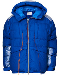 Ben Gorham Puffer Down Jacket Artic Blue