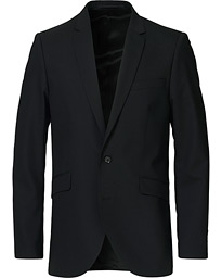 James Wool Suit Blazer Black