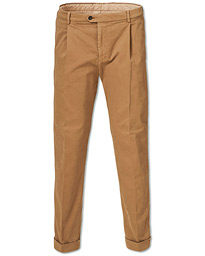 Tiger of Sweden Trevor Turn Up Pleated Chinos Beige