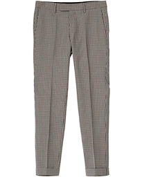 Tiger of Sweden Tillman Checked Trousers Beige