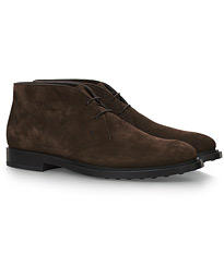 Polacco Desert Boot Dark Brown Suede
