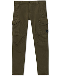 Garment Dyed Cargo Pants Olive