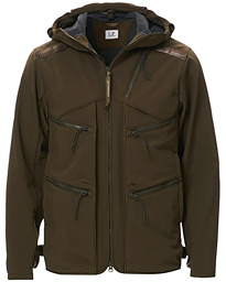 Soft Shell Goggles Jacket Olive