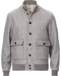 Valstarino Wool Jacket Grey Melange
