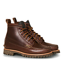 Yuketen Cortina Sole Angler Boots Dark Brown Calf