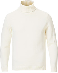 Zanone Virgin Merino Wool Rollneck Latte