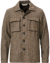 Tigre Tweed Jacket Grey Herringbone
