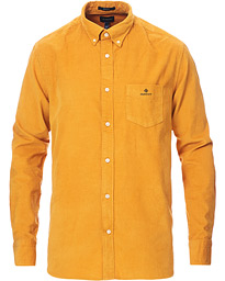 Regular Fit Corduroy Shirt Ivy Gold