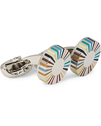 Paul Smith Multistripe Ray Edge Cufflink