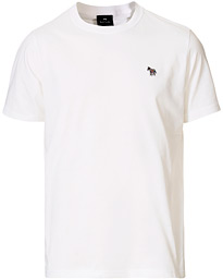 Regular Fit Zebra Tee White