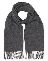Colin Wool Scarf Dark Grey