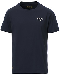 Merton Logo Crew Neck Tee Old Blue