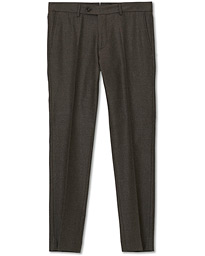 Rodney Flannel Trousers Brown