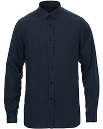 Winston Tencel Button Down Shirt Blue