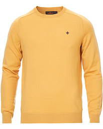 Morris Merino Crew Neck Yellow