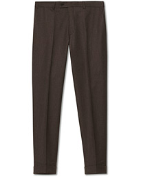 Jack Flannel Trousers Brown