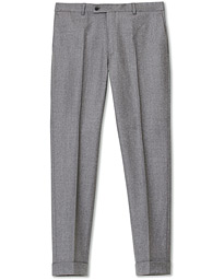 Jack Flannel Trousers Light Grey