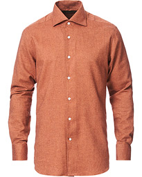 Heritage Flannel Shirt Rust