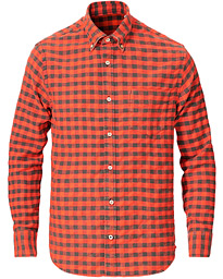 Levon Check Lumber Shirt Red