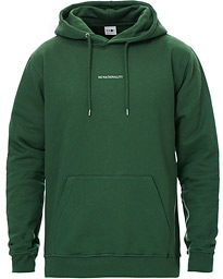 Barrow Printed Hoodie Bottle Green