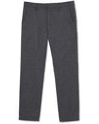 Theo Regular Fit Wool Trousers Grey