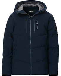 Patrol Down Hooded Jacket Navy