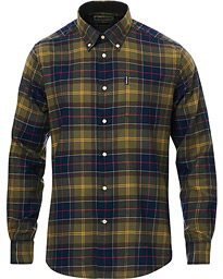 Barbour Lifestyle Flannel Check Shirt Classic Tartan