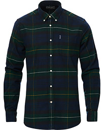 Highland Flannel Check Shirt Green