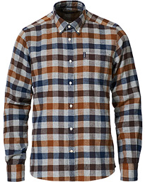 Country Check Flannel Shirt Copper