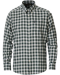 Eco 3 Flannel Check Shirt Green