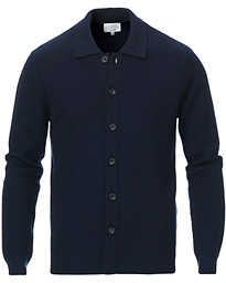 Knitted Overshirt Navy
