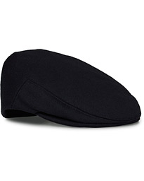 Lock & Co Hatters Glen Loden Wool/Alpaca Cap Navy