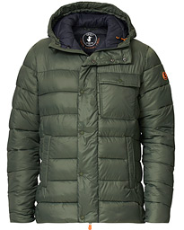 Lightweight Padded Front Pocket Jacket Thyme Green