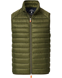 Save The Duck Lightweight Padded Vest Dusty Olive