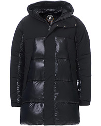 Long Padded Parka Black