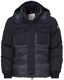 Penze Flanell Down Jacket Navy