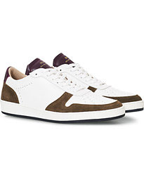ZSP23 Nappa/Suede Sneakers Militaire/Aubergin