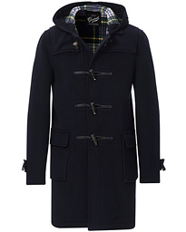 Gloverall Morris Duffle Coat Navy/Dress Gordon