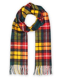 Gloverall Lambswool Scarf Buchanan