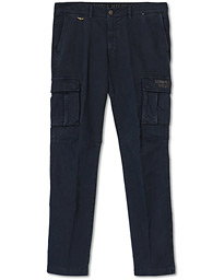 Cargo Trousers Blue Navy